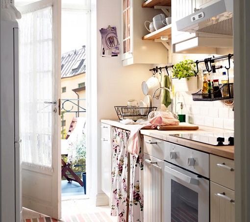 Fotos de cocinas vintage for Cocinas rusticas ikea