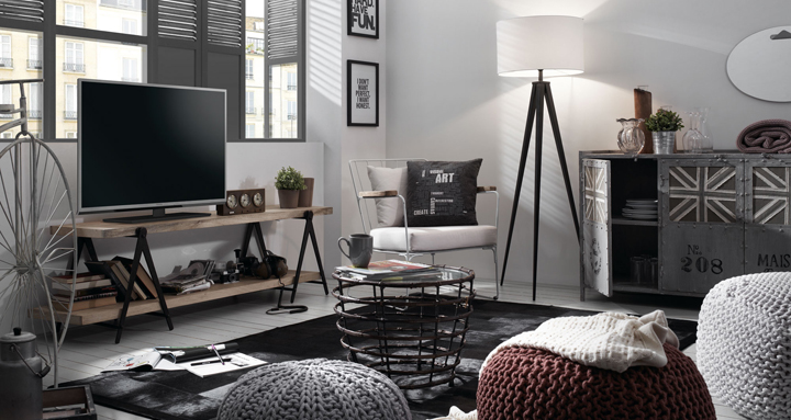 Tendencias en muebles 2015 - Decoracion vintage industrial ...