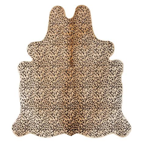 Alfombra piel estampado leopardo for Zara alfombras