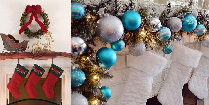 Chimenea Navidad decoracion2