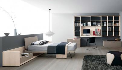 Fotos de dormitorios minimalistas - Camera ragazzo moderna ...
