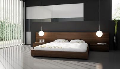 Fotos de dormitorios minimalistas for Muebles de dormitorio matrimonial modernos