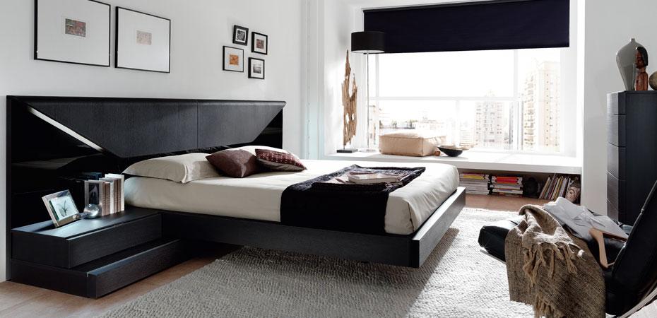 Dormitorio moderno17 for Cortinas dormitorio moderno