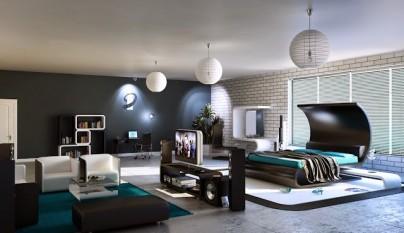 Dormitorio moderno58