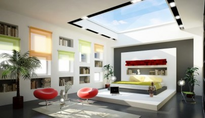 Dormitorio moderno9