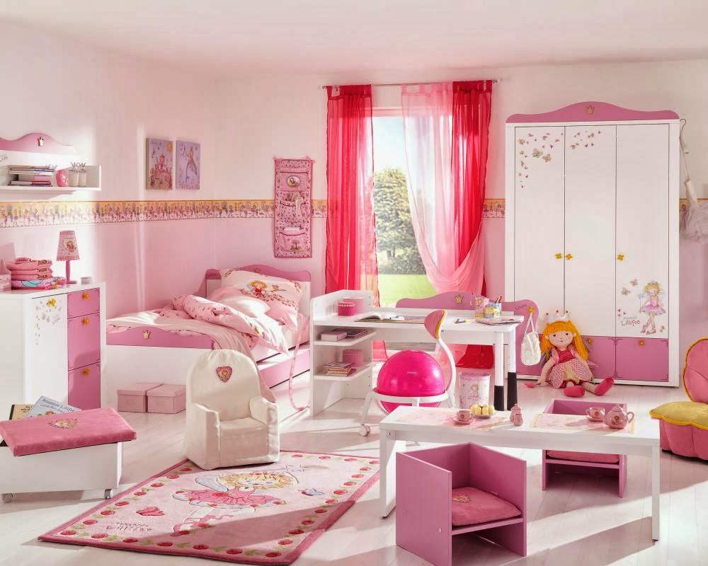Dormitorios infantiles en blanco y rosa quotes