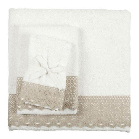 Toalla puntilla for Zara home toallas bano