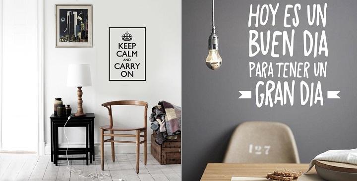 Vinilos con frases o citas c lebres - Frases para paredes habitaciones ...