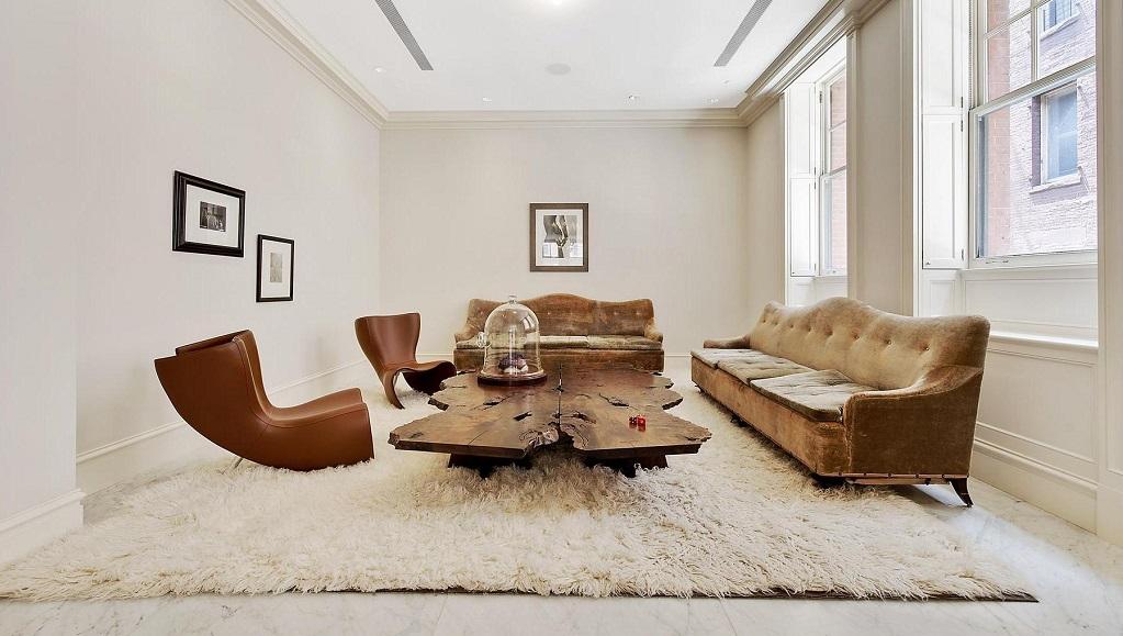 Diez consejos para tener un sal n m s acogedor - Alfombras salon modernas ...