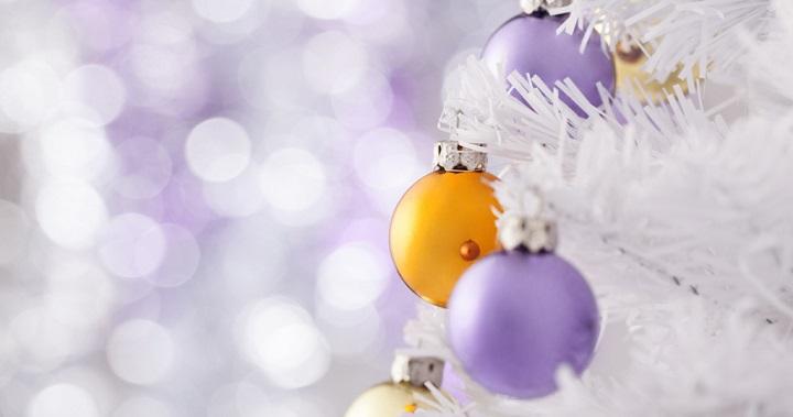C mo decorar rboles de navidad blancos - Arboles de navidad blanco ...