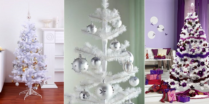 Decorablog Revista De Decoracion - Decorar-un-arbol-de-navidad-blanco