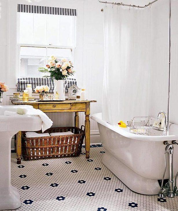 Azulejos Baño Vintage:Fotos de baños vintage