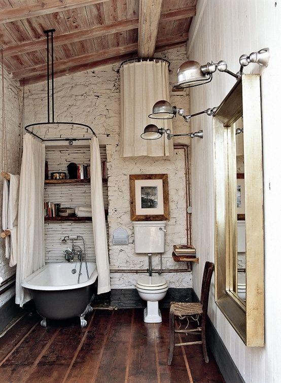 Iluminacion Baño Vintage:Fotos de baños vintage (20/52)