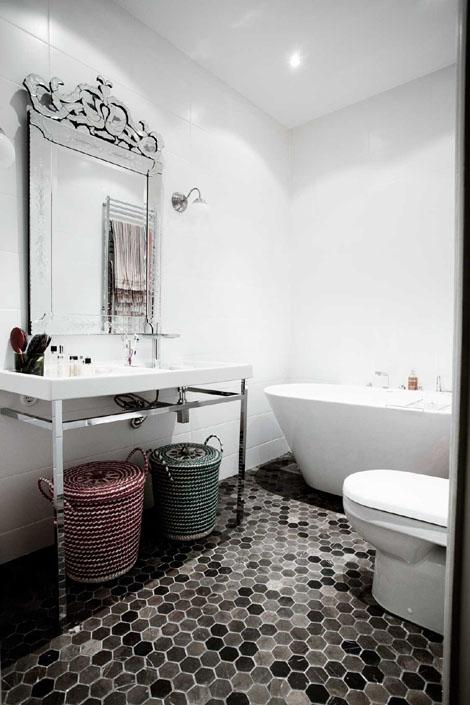 Iluminacion Baño Vintage:Fotos de baños vintage (23/52)