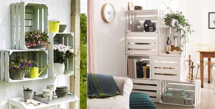 Muebles de salon hechos con palets