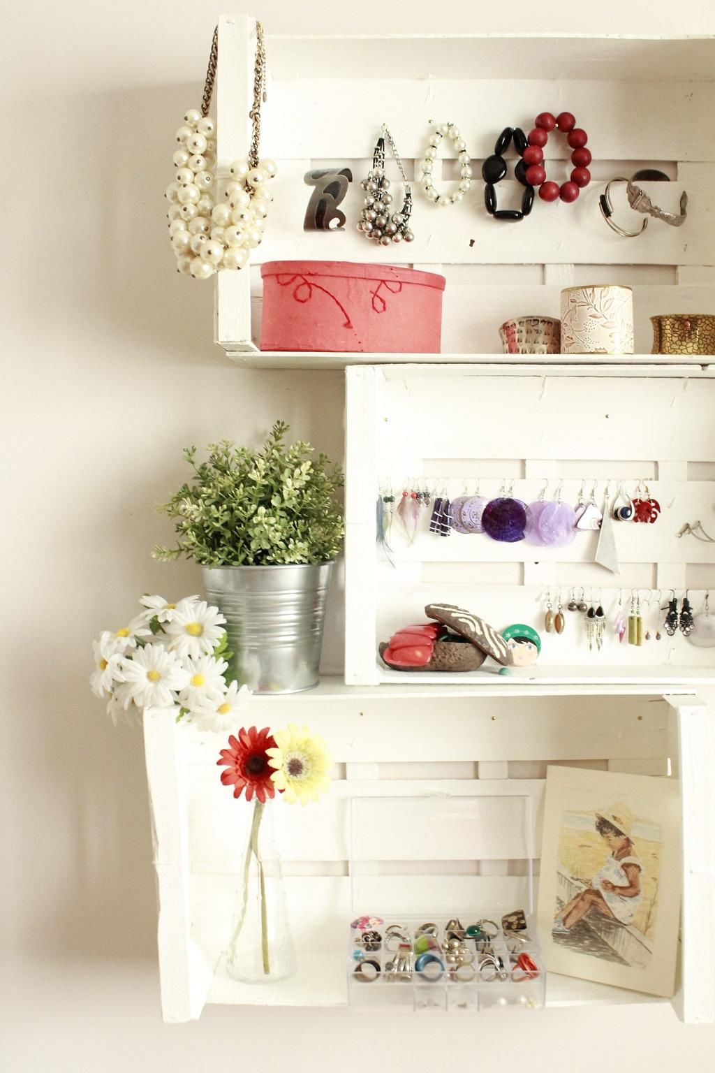 Decorar con cajas de fruta - Estanterias con cajas de fruta ...