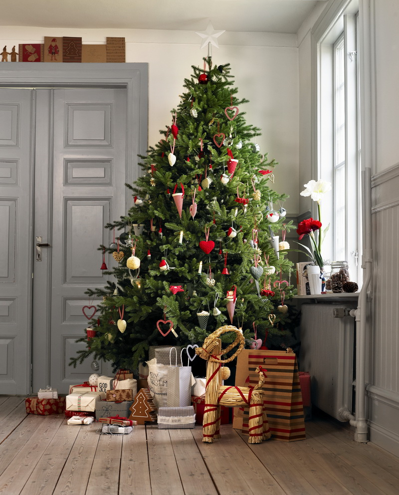 Baños Decoracion Nordica:Swedish Christmas Tree Decorations