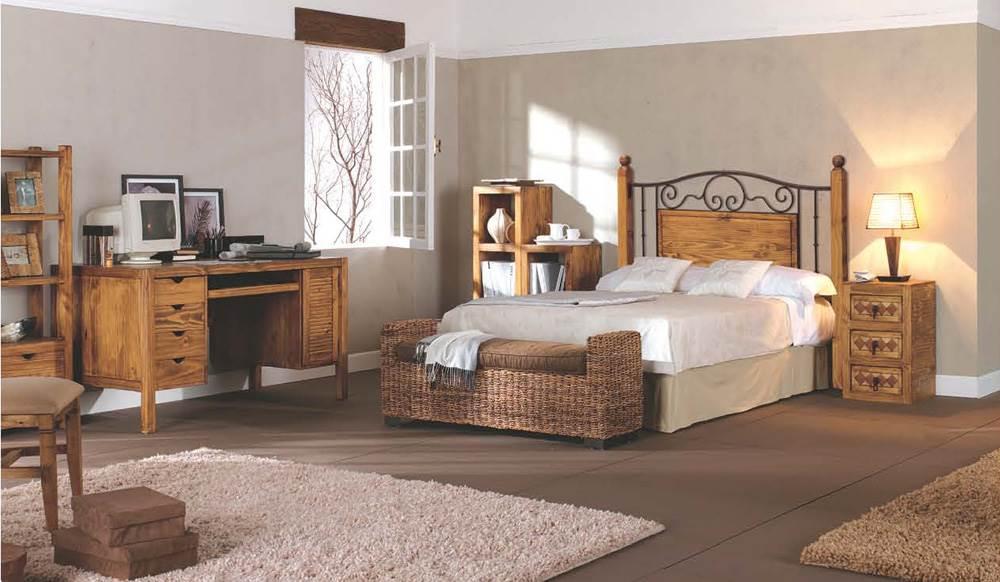 Dormitorios rusticos36 - Fotos de baules ...