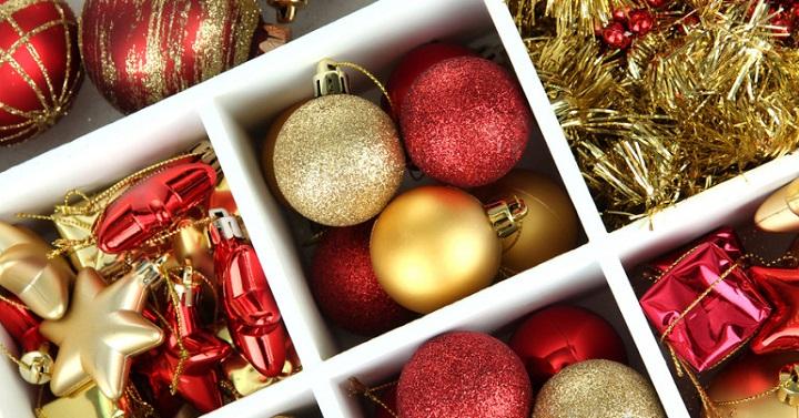 guardar decoracion navidena