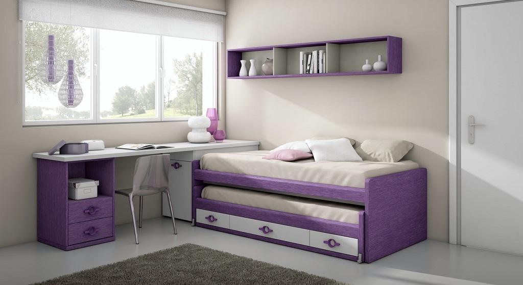 habitacion lila