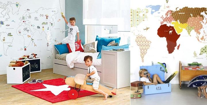 Pintura para dormitorios infantiles habitacion with - Pintar dormitorios infantiles ...