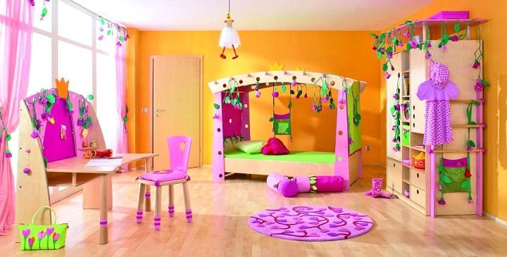 Ideas para pintar una habitaci n infantil - Color de pintura para habitacion ...