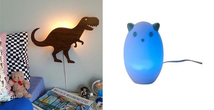 lampara dinosaurio