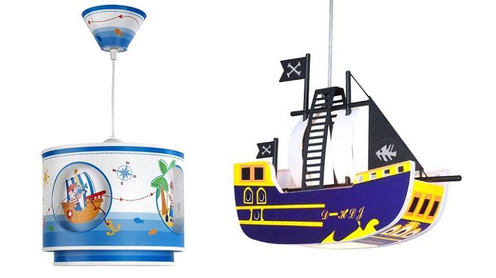 lampara piratas