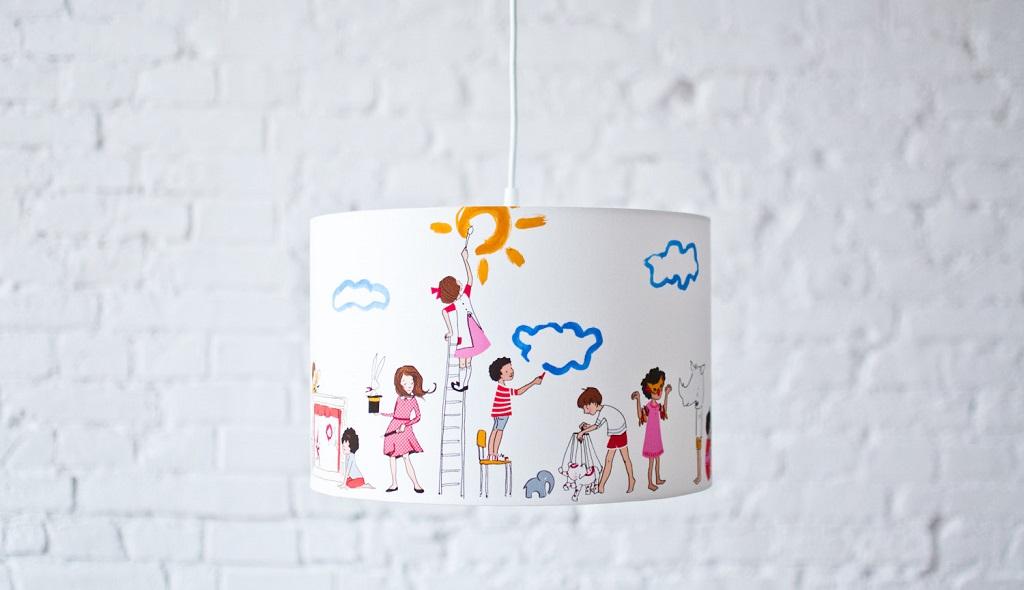 lamparas infantiles originales