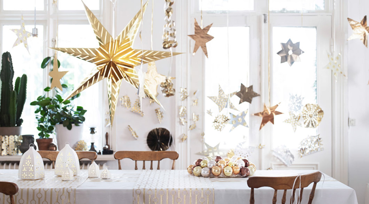 luces de navidad ikea 2014