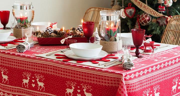 mesas Navidad Zara Home 2014