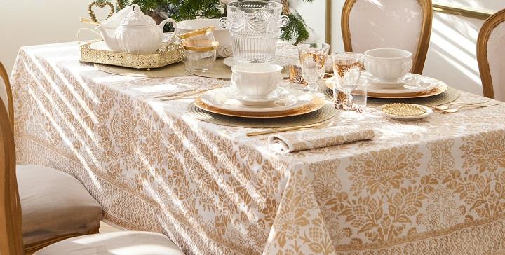 Mesas de navidad de zara home 2014 for Manteles de mesa