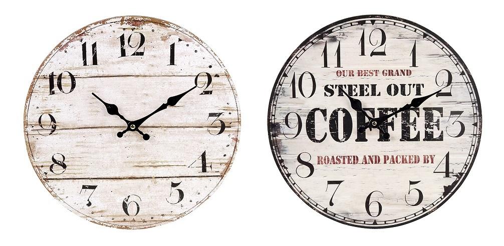 Relojes de pared vintage - Reloj pintado en la pared ...