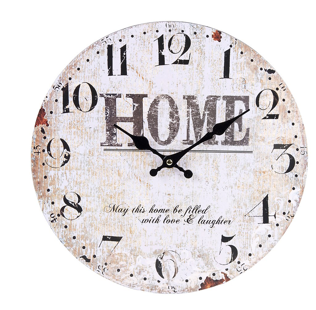 Muy mucho reloj home 34x34cm - Reloj de pared vintage ...