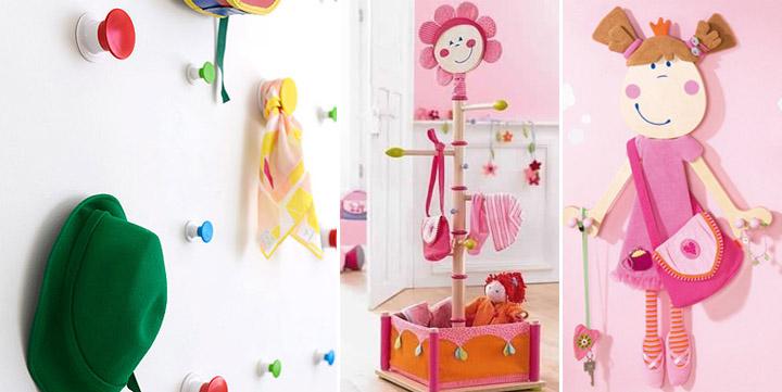 Percheros para habitaciones infantiles - Percheros infantiles de pared ...