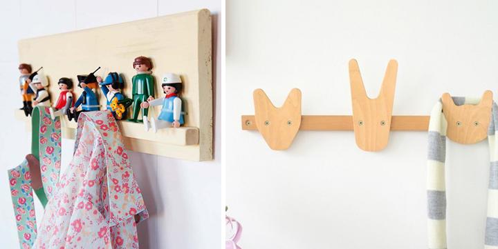 percheros para habitaciones infantiles