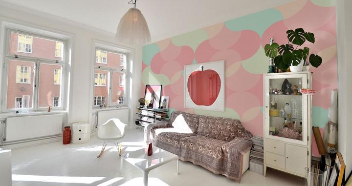 pintar las paredes en tonos pastel