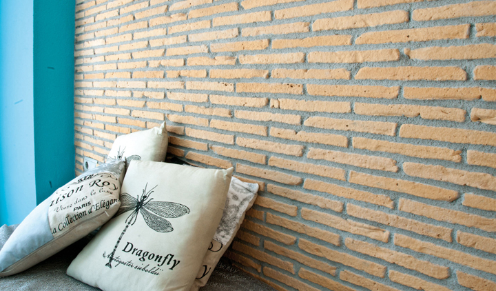 plaquetas decorativas para vestir paredes