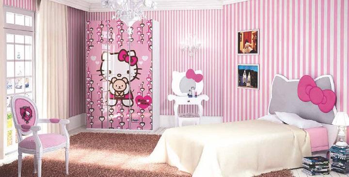 Dormitorios infantiles en blanco y rosa - El corte ingles habitaciones infantiles ...