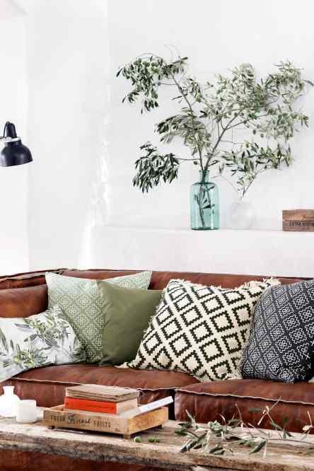 jarron grande de vidrio. Black Bedroom Furniture Sets. Home Design Ideas