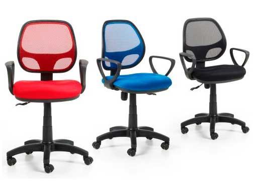 Mobiprix sillas de escritorio4 for Precios sillas giratorias para escritorio