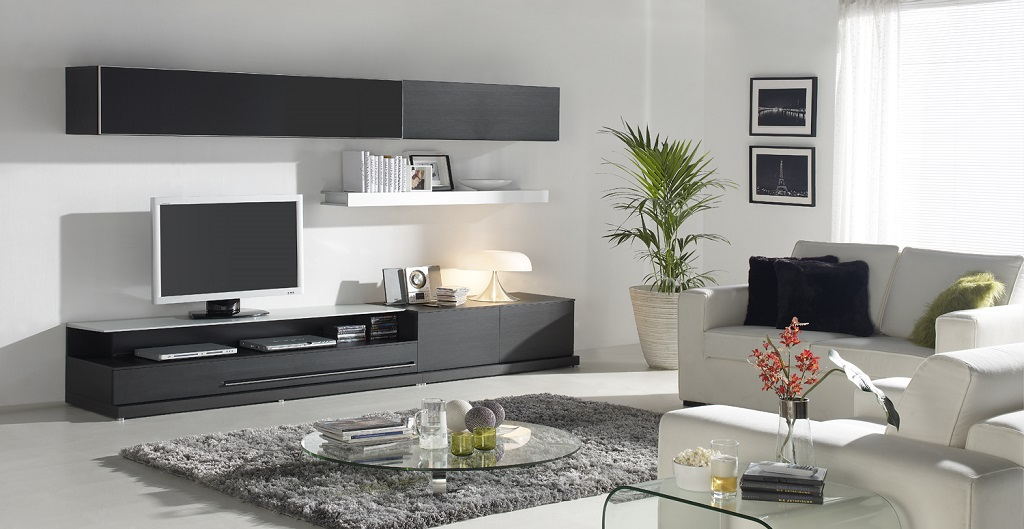 Salones modernos10 for Como decorar un salon moderno