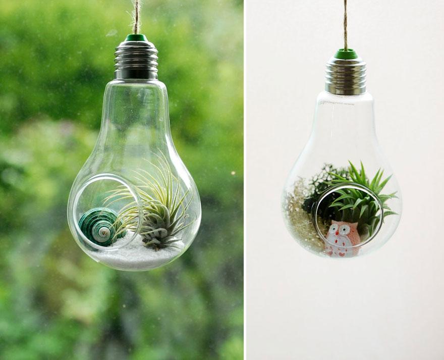 bombillas viejas recicladas 13