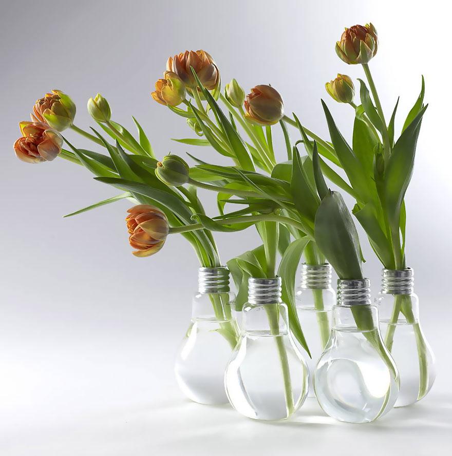 bombillas viejas recicladas 16