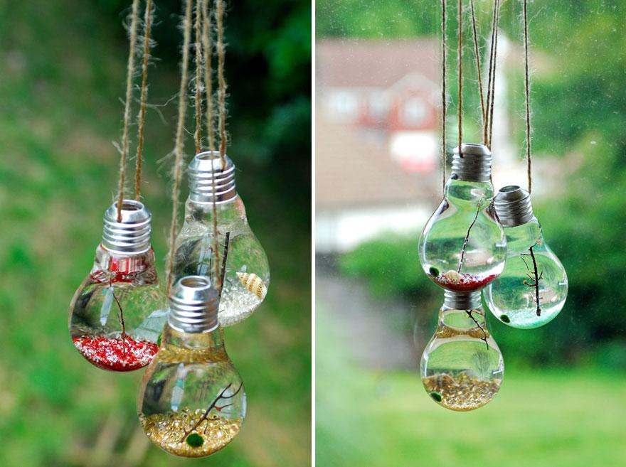 bombillas viejas recicladas 2