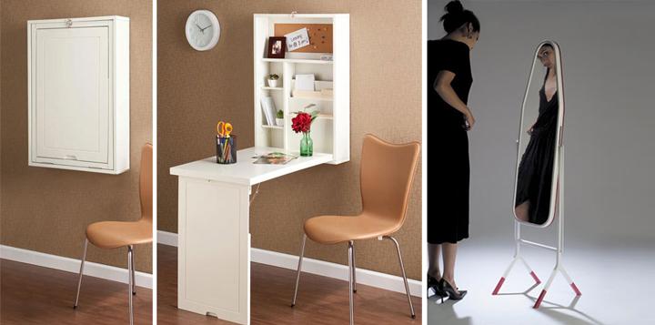 Consejos para ahorrar espacio en el sal n Mobiliario para espacios reducidos
