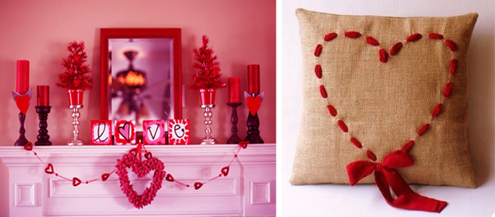 decorar la casa en san valentin con poco dinero