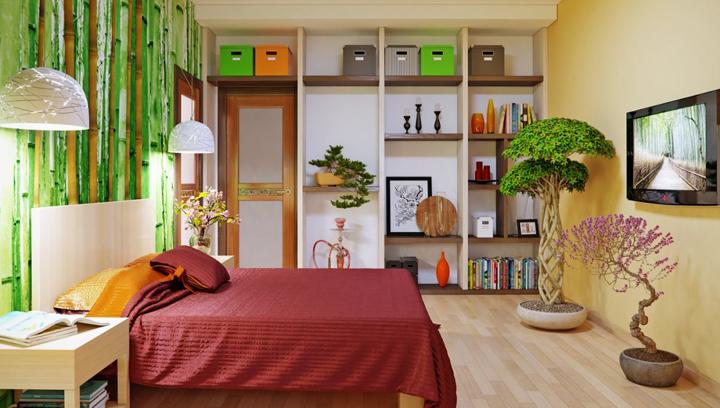 Decorar un dormitorio con flores - Decorar un dormitorio ...