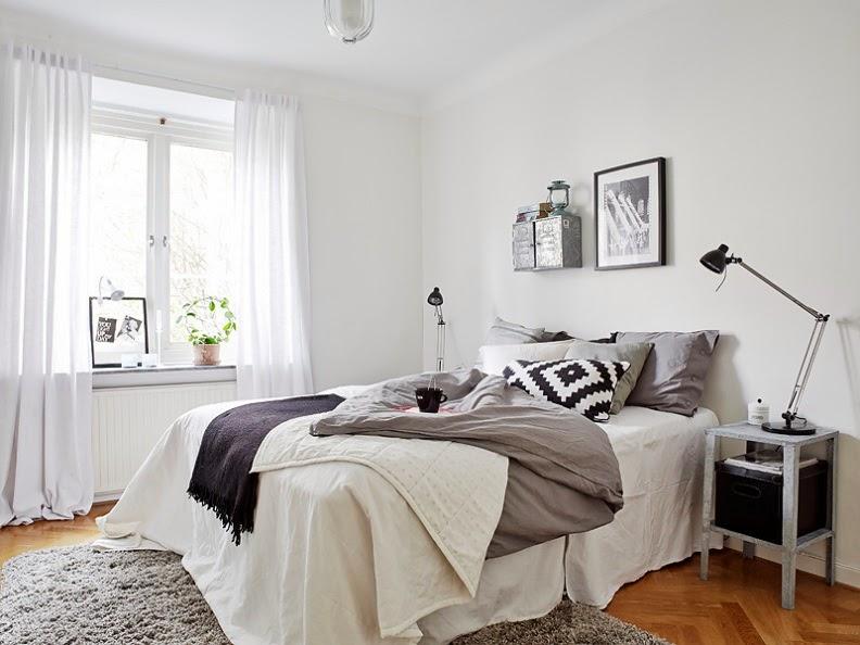Fotos de dormitorios de estilo n rdico for Dormitorio estilo nordico industrial