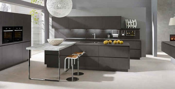 Decorablog revista de decoraci n for Cocina reformada en gris